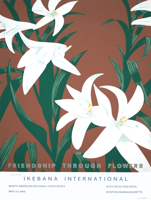 Alex Katz, 'Friendship Through Flowers, Ikebana International', 1968, ArtWise