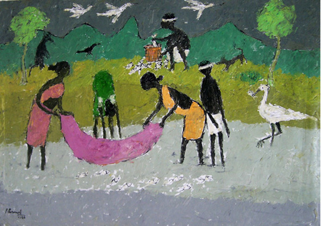 , 'A Day in the Village,' 2007, Gnani Arts
