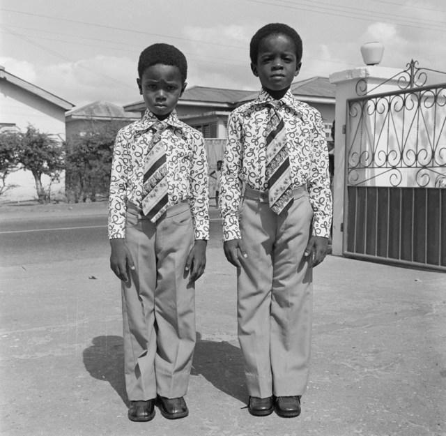 , 'Kids dressed in identical suits, Accra, 1970s or 1980s  ,' 2019, Galerie Clémentine de la Féronnière