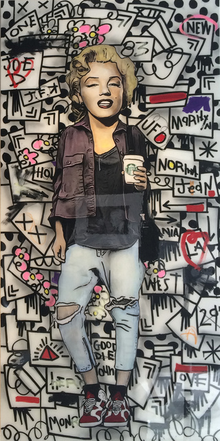 , 'Marilyn Monroe,' 2015, Mouche Gallery