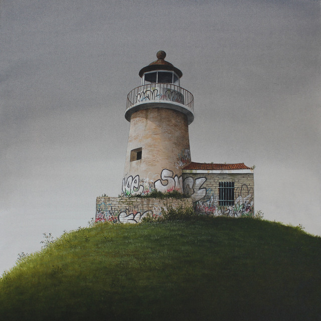 , 'The Lighthouse,' 2017, White Noise Gallery