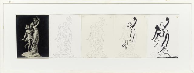 , 'Apollo and Dafne,' 1974, Kadel Willborn