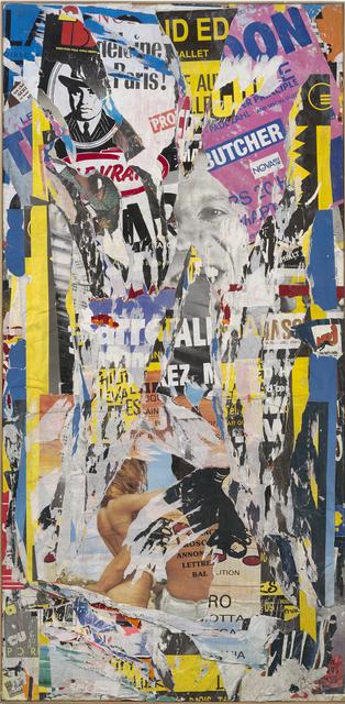 , 'Colonne Morris – rue des Écoles,' 1988, Modernism Inc.