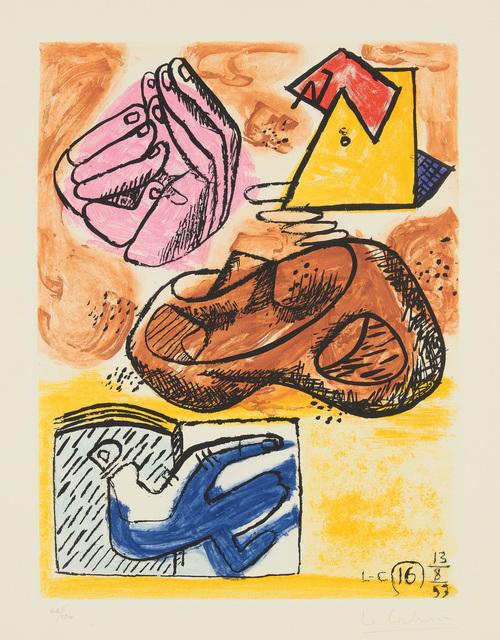Le Corbusier, 'Unité, plate 16', 1963, Phillips
