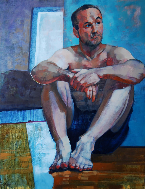 ", '""Waiting"",' 2016, Bowersock Gallery"