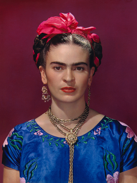 , 'Frida Kahlo in Blue Blouse,' 1939, Bentley Gallery