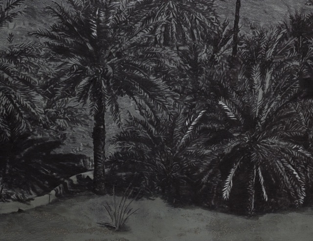 Saad Qureshi, 'Sacred Garden I (Detail View)', 2017, Aicon Gallery