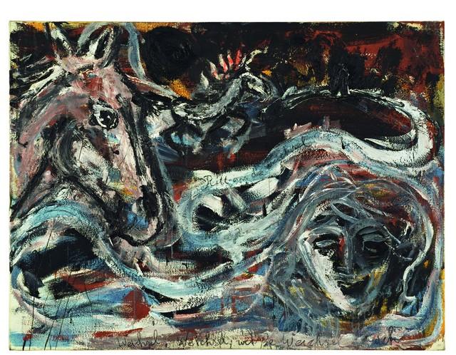 , 'Ritt an die Weichsel,' 1980, Centre Pompidou