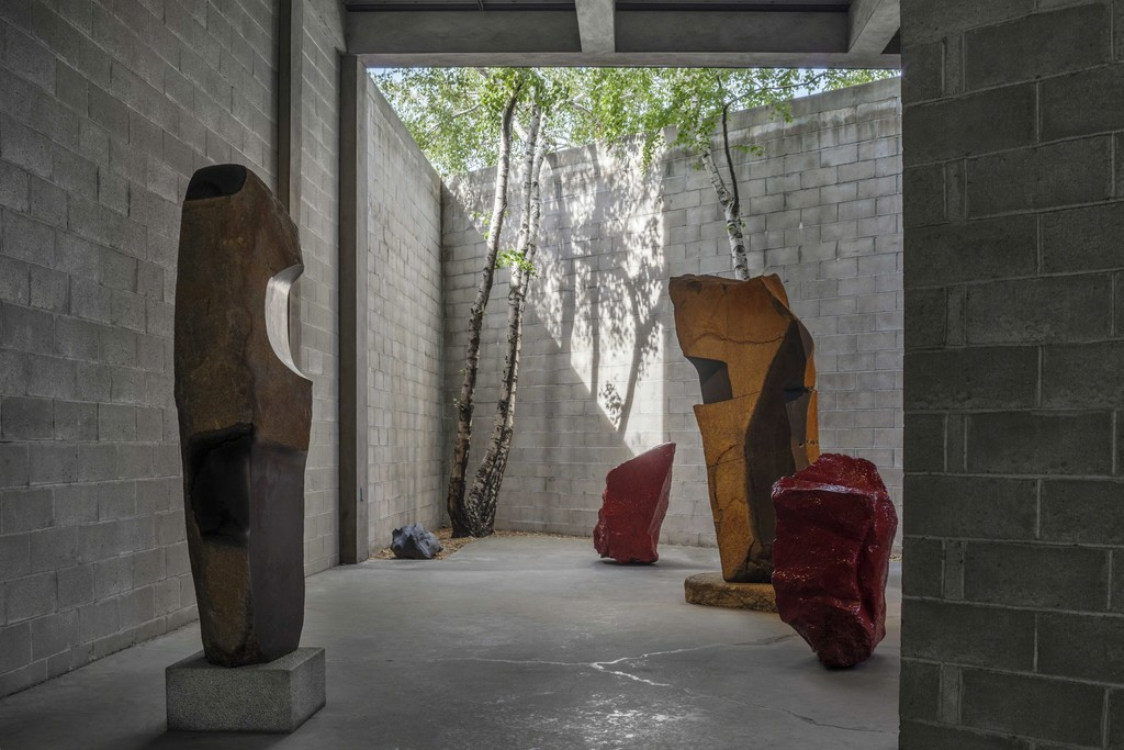 """Museum of Stones"" installation at The Noguchi Museum, 2015 © The Noguchi Museum. Photo: Elizabeth Felicella"
