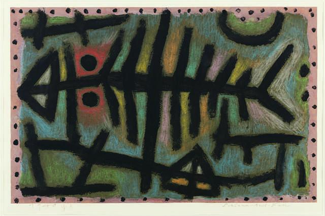 Paul Klee, 'Schlamm-Assel-Fisch (Mud-Woodlouse-Fish)', 1940, Fondation Beyeler