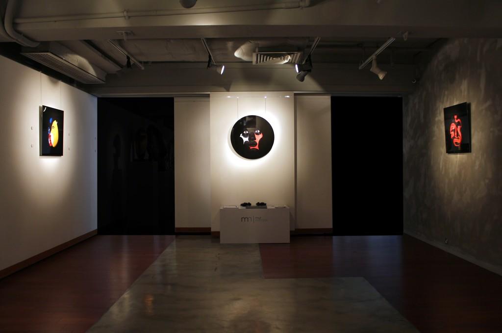 Visages Exhibition View at Mur Nomade, Hong Kong