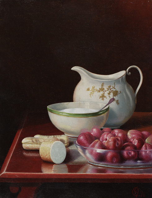 , 'Still Life with Berries, Sugar, and Cream Pitcher,' 1916, Questroyal Fine Art