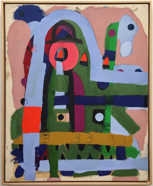 , 'Blackjaw Sees Bright Green Future,' 2018, Octavia Art Gallery