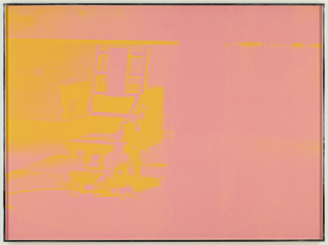 , 'Electric Chair,' 1971, Alan Cristea Gallery