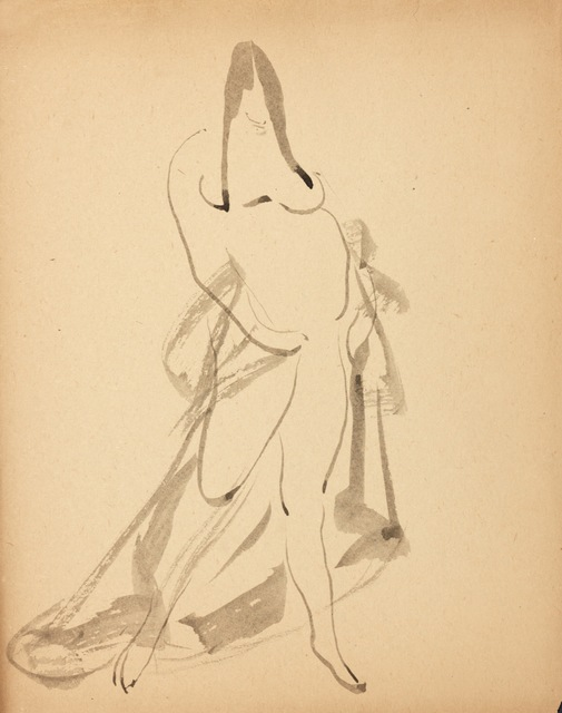 , 'Standing Woman, Draped,' ca. 1908, New York Studio School