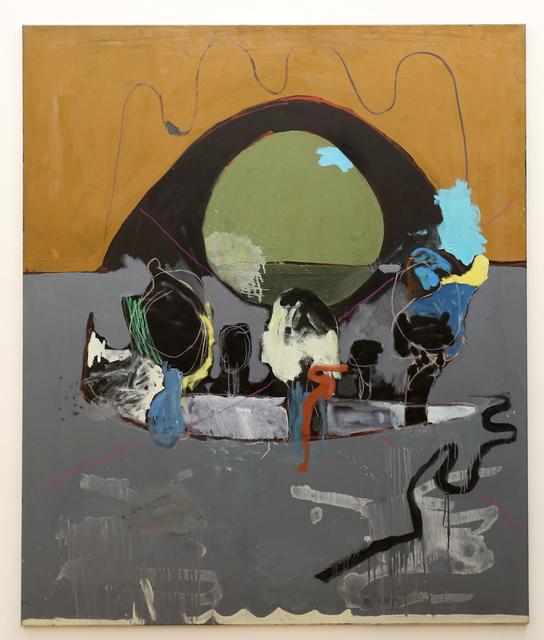 , 'o.T. (Landschaft),' 2017, Galerie Britta von Rettberg