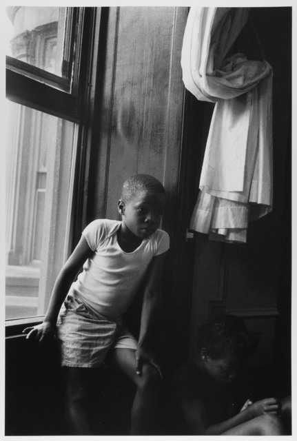 , 'Boy at Window, Sister in shadow, Brooklyn, NY ,' 1963, Gallery 270