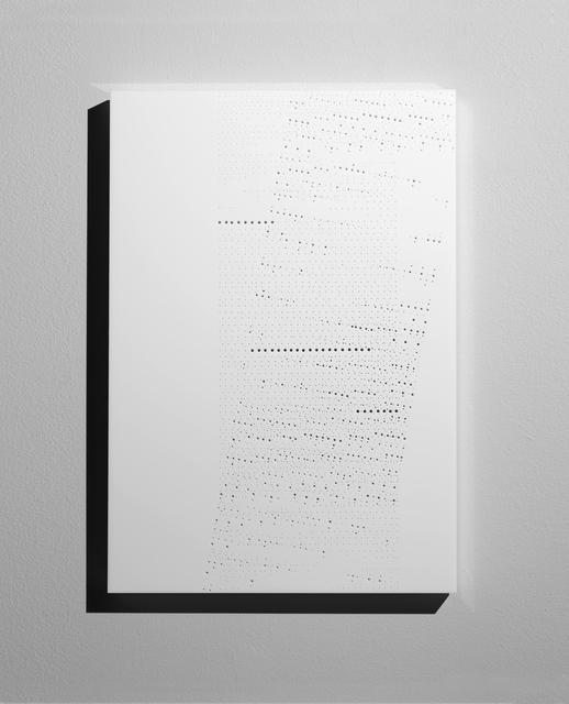, 'Spazio bianco...tracce dell'anima,' 2013, A arte Invernizzi