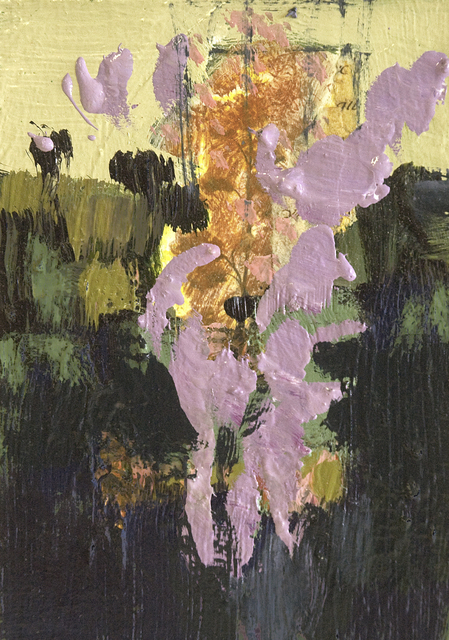 , 'Lilac Flowers with Collage,' 2016, Oeno Gallery