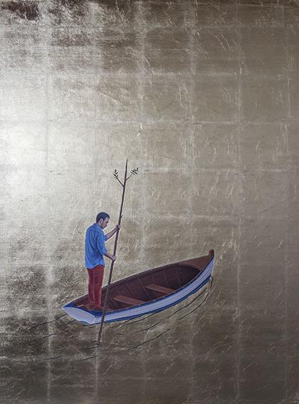 , 'Arqueología del resplandor 3,' 2015, Galería Alfredo Ginocchio