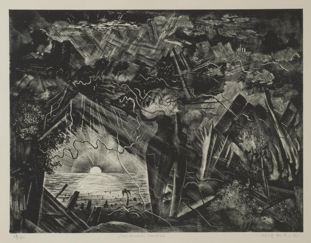 Adolf Arthur Dehn, 'Tomorrow's Sunrise', 1945, Thomas French Fine Art