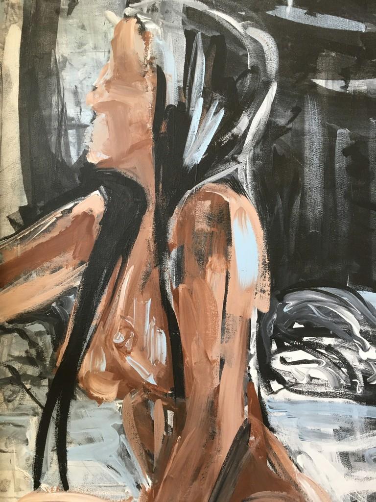 Wetness ~ Acrylics ~ Mariam Qureshi