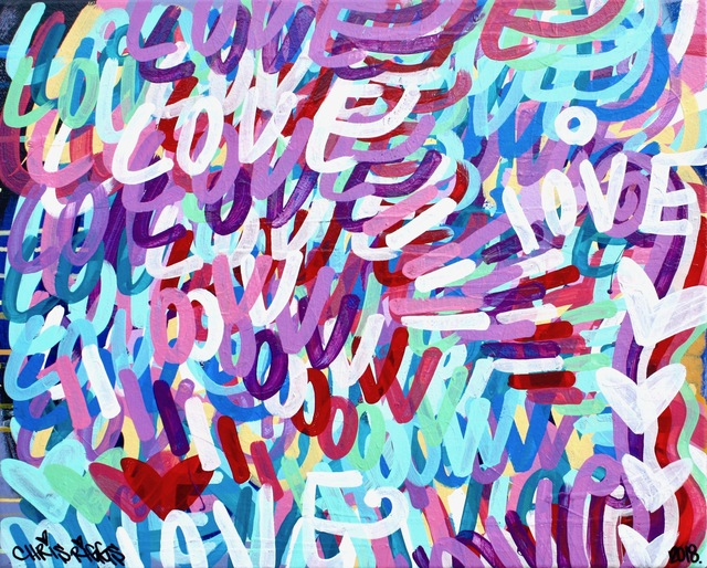 , 'Love Canvas 6,' 2018, Open Mind Art Space