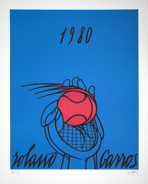 Valerio Adami, 'Roland Garros (Blue)', 1980, ArtWise
