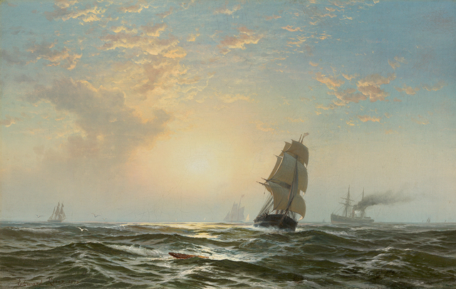 , 'Seascape,' 1875, Questroyal Fine Art