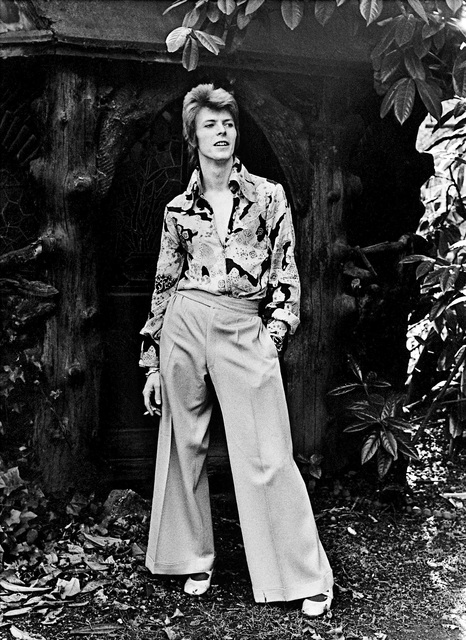 , 'Bowie, In Garden Wide Trousers,' 1972, TASCHEN