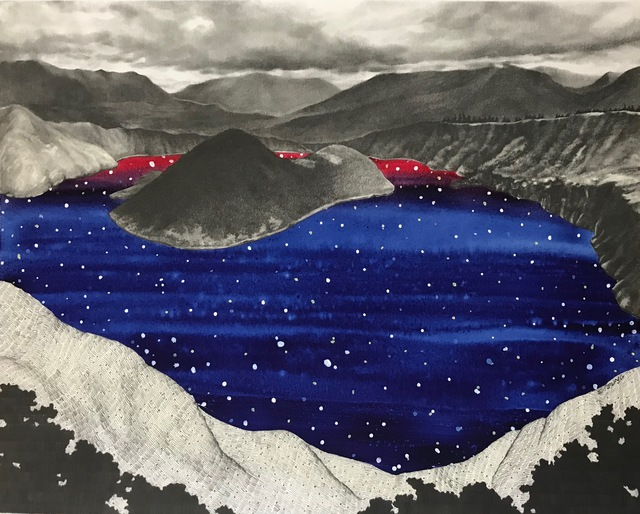 , 'Crater Lake: Starry Night,' 2017, Conduit Gallery