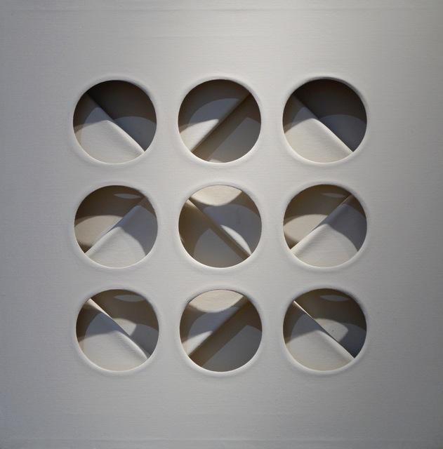 Paolo Scheggi, 'Intersuperficie curva- dal bianco', 1967, Galerie Leu