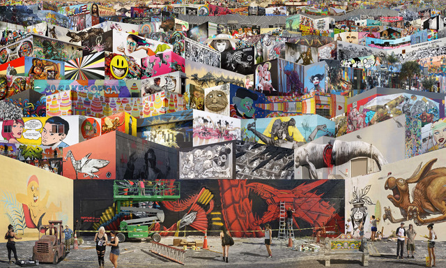 Wynwood Walls As You've Never Seen Them Before, in Jean-François Rauzier's Newest Hyperphotos