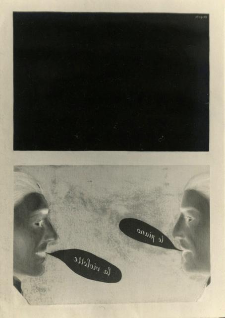 , 'L'Usage de la parole,' 1928, Bruce Silverstein Gallery