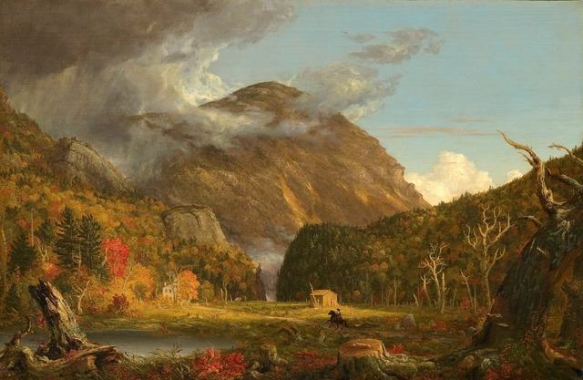 Thomas Cole, 'A View of the Mountain Pass Called the Notch of the White Mountains (Crawford Notch)', 1839, National Gallery of Art, Washington, D.C.