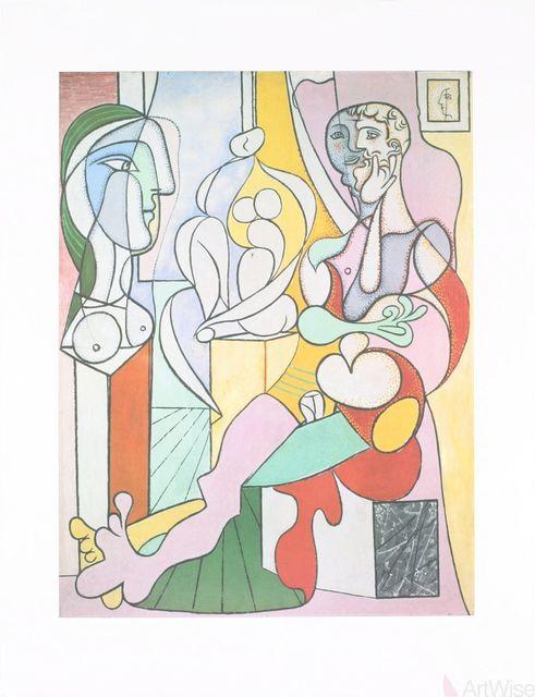 Pablo Picasso, 'Le Sculpteur', 1995, Print, Stone Lithograph, ArtWise