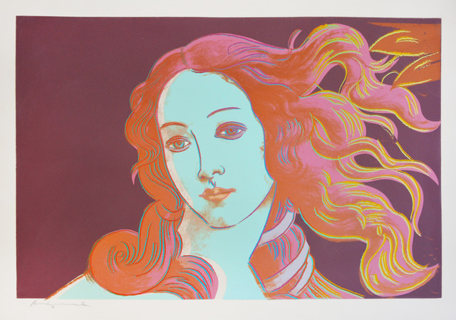 Andy Warhol, 'Details of Renaissance Paintings: Sandro Botticelli, Birth of Venus', 1984, Shapero Modern