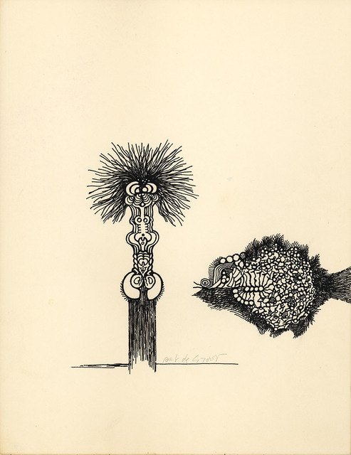 , 'untitled (PdG106),' 1960, Albert Merola Gallery