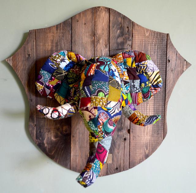 Louis Masai, '« Fauxdermy » - Hang your head - The elephant', 2019, NextStreet Gallery