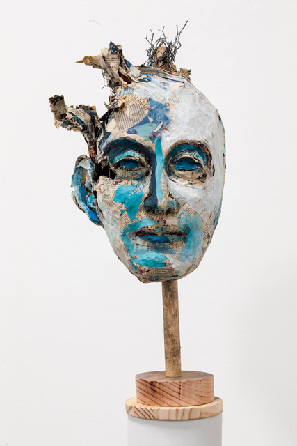 , 'Blue Head,' 2011, Rosamund Felsen Gallery