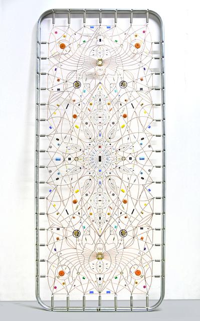 , 'Technological mandala 91 - Come in alto così in basso,,' 2016, The Flat - Massimo Carasi