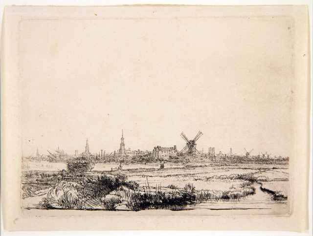 , 'View on Amsterdam,' 1640, Centre for Fine Arts (BOZAR)