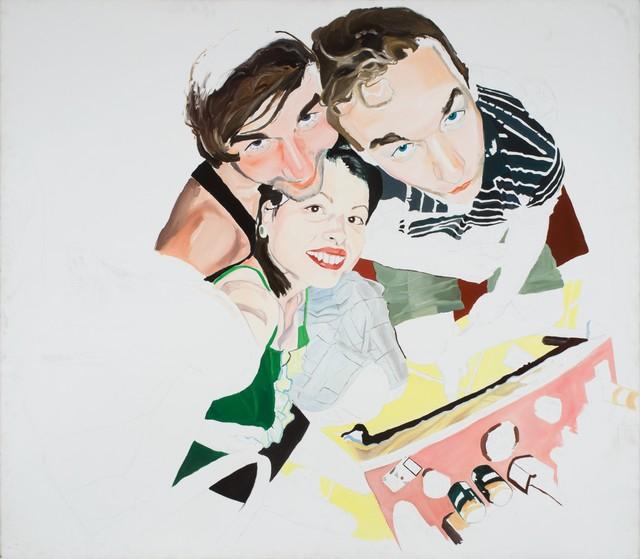 , 'Kim, Gergő, Peti,' 2008, Inda Gallery