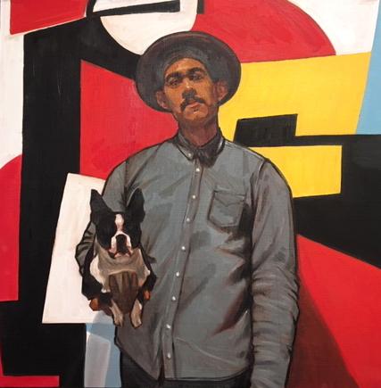 , 'Josh Fortuna,' 2018, Jen Mauldin Gallery
