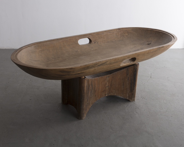 , 'Dining table in solid Brazilian hardwood,' 1970-1979, R & Company