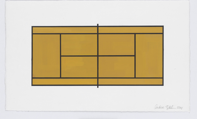 , 'Court #2,' 2014, New Art Centre