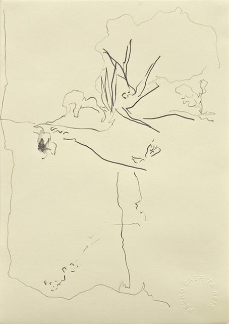 , 'Os desenhos da praia #2,' 2011, Galeria Miguel Nabinho