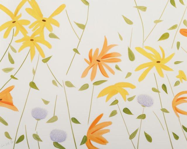 Alex Katz, 'Flowers 2', 2017, Heritage Auctions