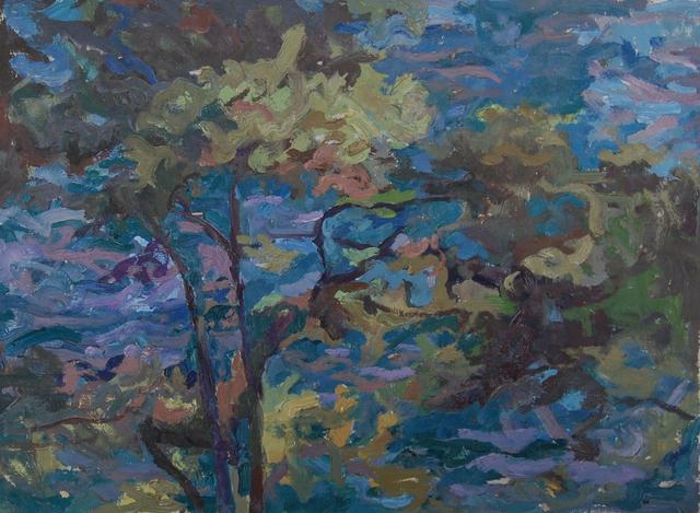 , 'Blue canopy,' ca. 1968, Robert Eagle Fine Art