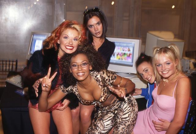 David Corio, 'The Spice Girls, AOL Headquarters, New York, USA', 1997, ElliottHalls